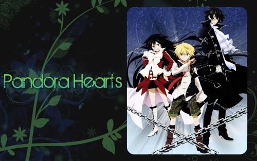 Jun Mochizuki, Pandora Hearts, Gilbert Nightray, Alice (Pandora Hearts), Oz Vessalius Wallpaper