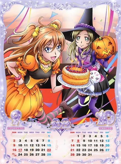 Toei Animation, Suite Precure, Suite Precure 2012 Calendar, Hummy, Hibiki Hojo