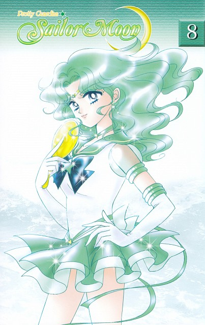 Naoko Takeuchi, Bishoujo Senshi Sailor Moon, Eternal Sailor Neptune, Manga Cover