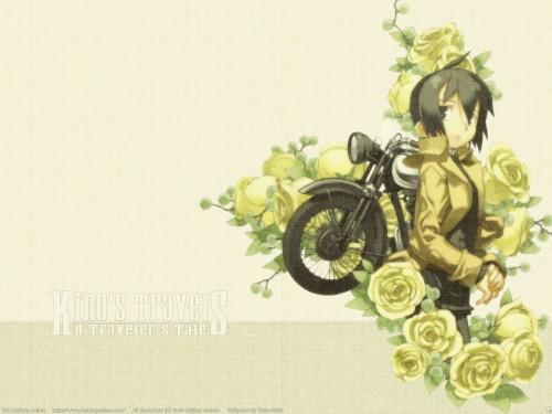 Kouhaku Kuroboshi, Kino no Tabi, Kino, Hermes Wallpaper