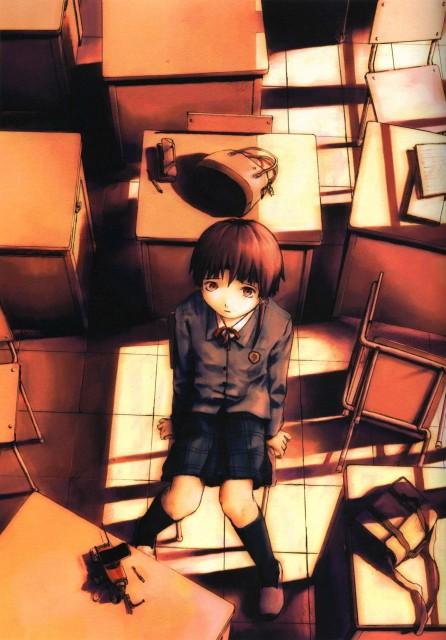Yoshitoshi Abe, Serial Experiments Lain, Lain Iwakura