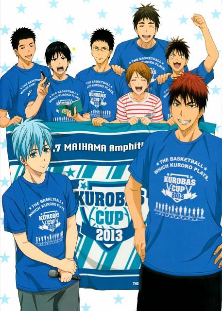 Tadatoshi Fujimaki, Production I.G, Kuroko no Basket, Riko Aida, Shinji Koganei