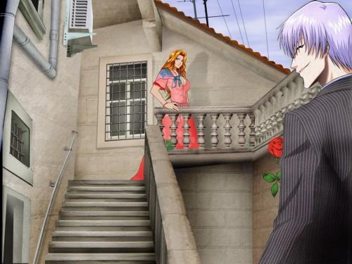 Kubo Tite, Studio Pierrot, Bleach, Gin Ichimaru, Rangiku Matsumoto Wallpaper