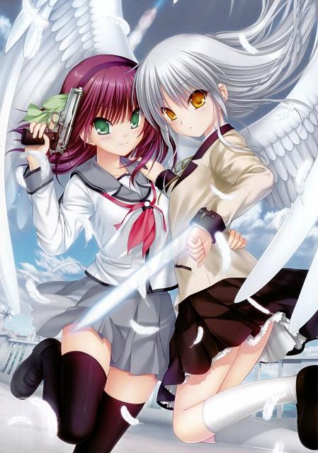 Na-Ga, P.A. Works, Key (Studio), Angel Beats!, Angel Beats! - 1st Beat