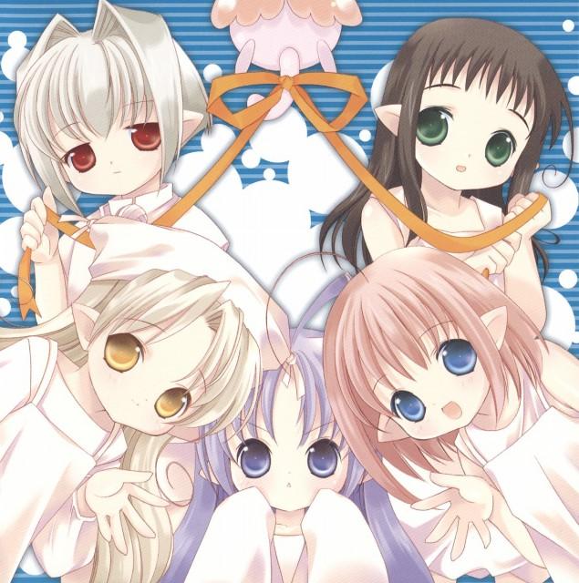 Yuiko Tokumi, Xebec, Bottle Fairy, Hororo, Chiriri