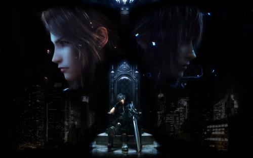 Final Fantasy XIII, Final Fantasy XV, Stella Nox Fleuret, Noctis Lucis Caelum Wallpaper