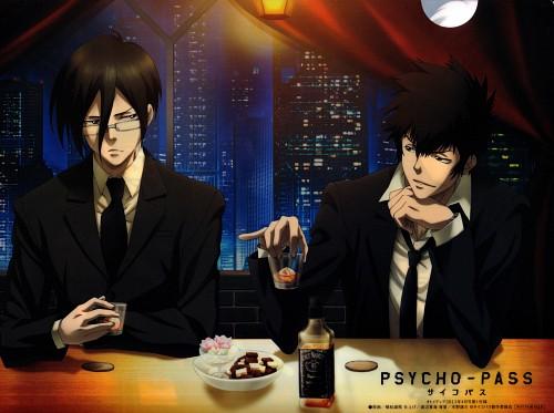 Production I.G, PSYCHO-PASS, Shinya Kougami, Ginoza Nobuchika, Otomedia