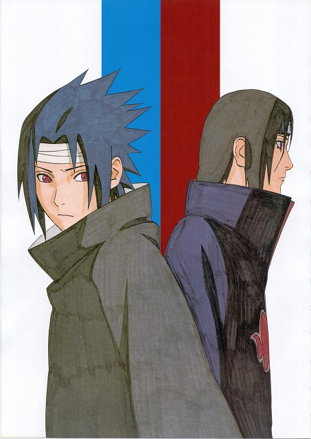 Masashi Kishimoto, Naruto, Itachi Uchiha, Sasuke Uchiha