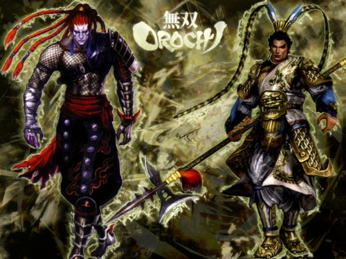 Koei, Warriors Orochi, Dynasty Warriors, Sengoku Musou, Lu Bu Wallpaper