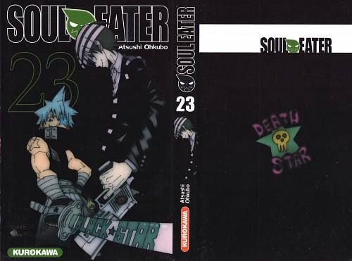 Atsushi Okubo, Soul Eater, Death The Kid, Black Star, Manga Cover