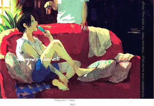 Kuroko no Basket, Shintarou Midorima, Kazunari Takao, Doujinshi, Doujinshi Cover