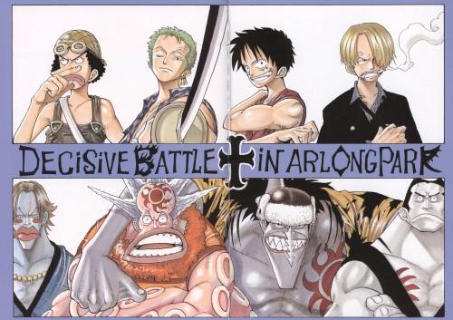 Eiichiro Oda, Toei Animation, One Piece, Color Walk 2, Roronoa Zoro