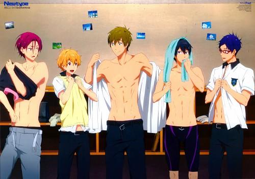 Maiko Hado, Kyoto Animation, Free!, Rei Ryuugazaki, Nagisa Hazuki