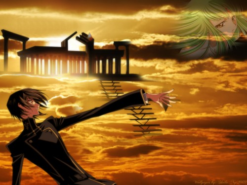 Takahiro Kimura, Sunrise (Studio), Lelouch of the Rebellion, C.C., Lelouch Lamperouge Wallpaper