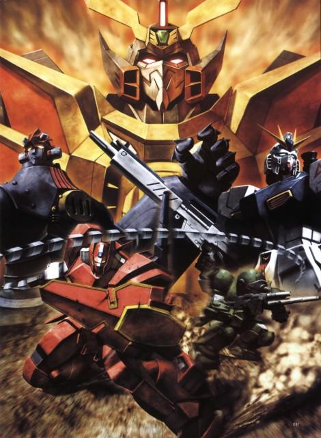 Takahiro Kimura, Sunrise (Studio), Mobile Suit Gundam - Universal Century, Big O, Brave King GaoGaiGar