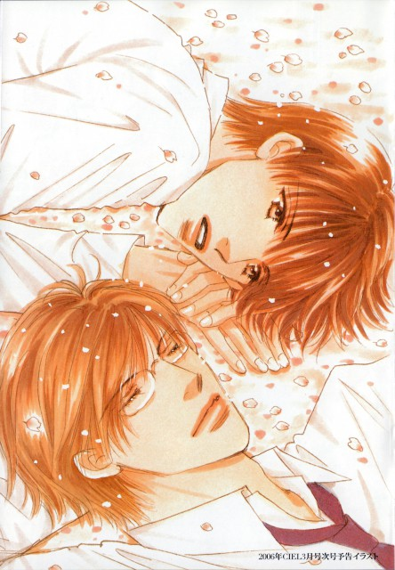 Kazumi Ohya, Takumi-kun Series, Takumi-kun Memorial Illustbook, Takumi Hayama, Saki Gii