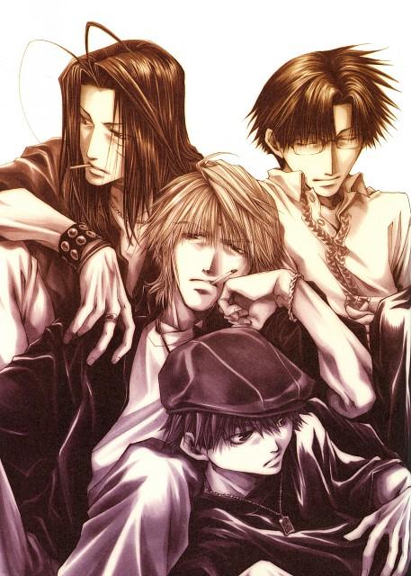 Kazuya Minekura, Studio Pierrot, Saiyuki, Salty Dog IV, Son Goku (Saiyuki)