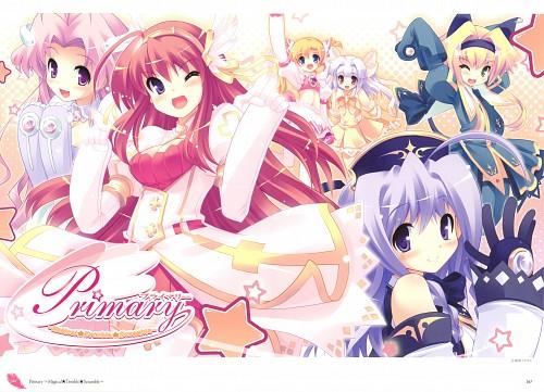 Tsurugi Hagane, SkyFish, Primary Magical Trouble Scramble, Lime Luna Oaklane, Rikuou Hinana