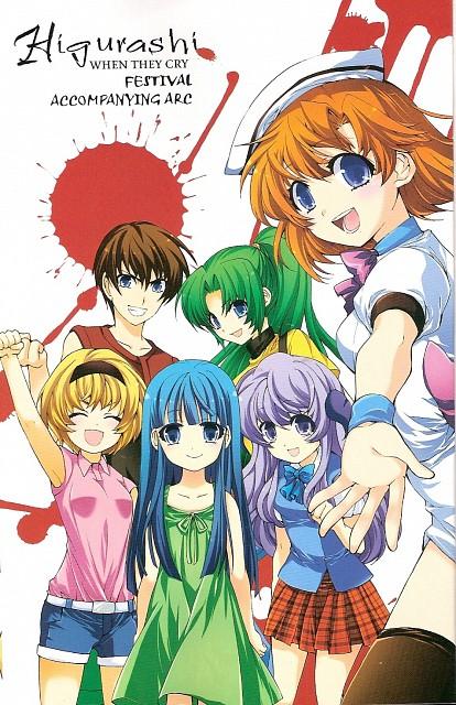 Karin Suzuragi, 07th Expansion, Studio Deen, Higurashi no Naku Koro ni, Satoko Hojo