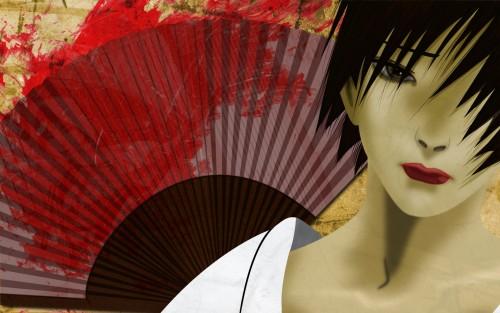 Hiroaki Samura, Bee Train, Blade of the Immortal, Makie Otono-tachibana, Vector Art Wallpaper