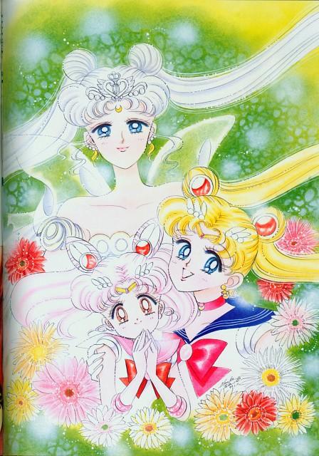 Naoko Takeuchi, Bishoujo Senshi Sailor Moon, BSSM Original Picture Collection Vol. II, Sailor Moon, Neo-Queen Serenity