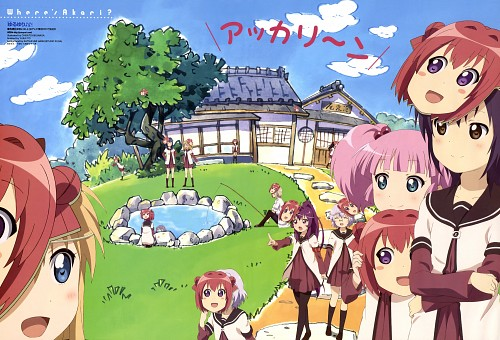 Namori, Chisato Kikunaga, Dogakobo, Yuru Yuri, Akari Akaza