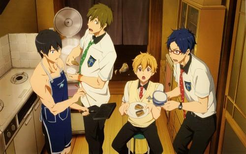 Kyoto Animation, Free!, Free! Illustration WORKS, Haruka Nanase (Free!), Rei Ryuugazaki