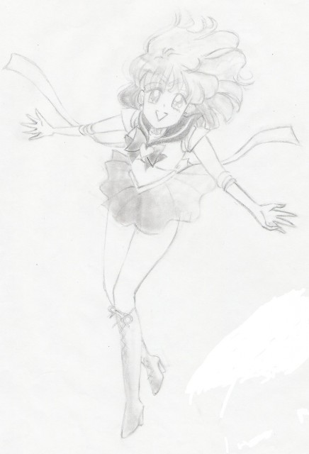 Naoko Takeuchi, Bishoujo Senshi Sailor Moon, Sailor Saturn, Member Art