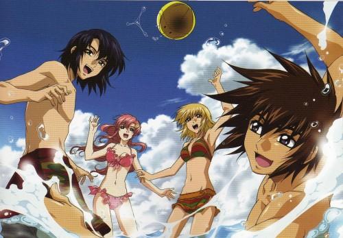 Sunrise (Studio), Mobile Suit Gundam SEED Destiny, Haro, Lacus Clyne, Cagalli Yula Athha