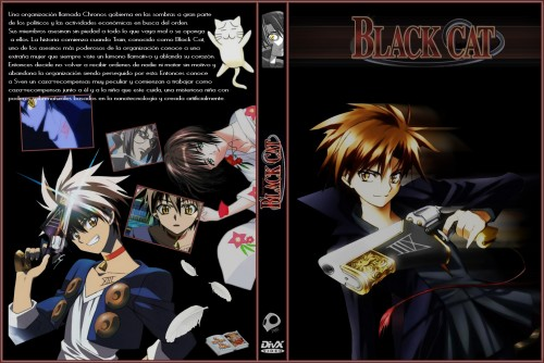 Kentaro Yabuki, Gonzo, Black Cat, Saya Minatsuki, Train Heartnet