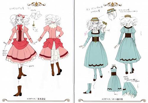 Yana Toboso, Kuroshitsuji, Elizabeth Middleford, Character Sheet