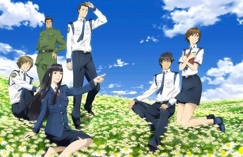 Toshokan Sensou, Ryusuke Genda, Asako Shibasaki, Hikaru Tezuka, Atsushi Dojo