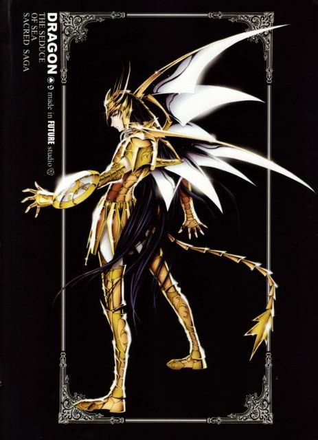 Masami Kurumada, Future Studio, Saint Seiya, Sacred Saga, Dragon Shiryu