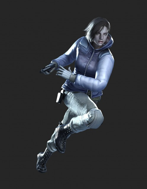 Capcom, Resident Evil: The Umbrella Chronicles, Jill Valentine, Official Digital Art