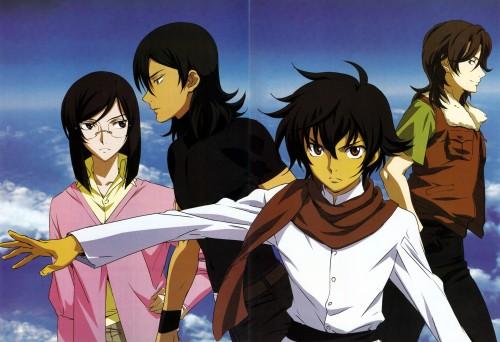 Mobile Suit Gundam 00, Tieria Erde, Setsuna F. Seiei, Lockon Stratos, Allelujah Haptism