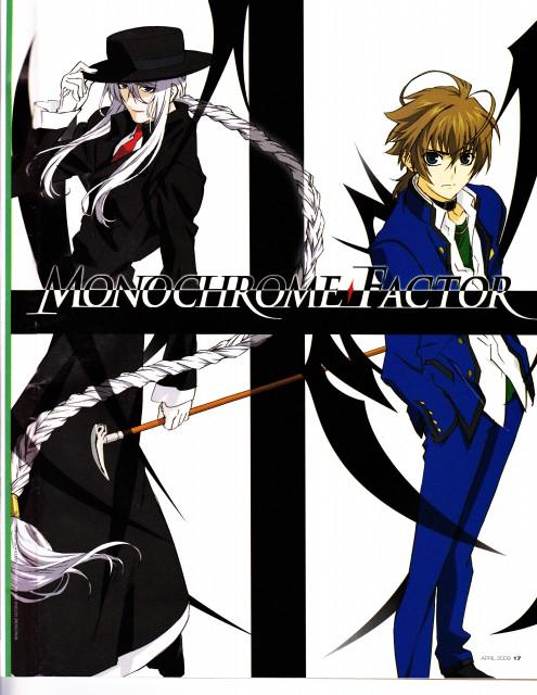 Kaili Sorano, A.C.G.T., Monochrome Factor, Akira Nikaido, Shirogane