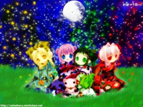 Yuiko Tokumi, Xebec, Bottle Fairy, Chiriri, Sarara Wallpaper