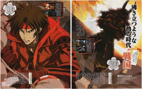 Makoto Tsuchibayashi, Production I.G, Capcom, Sengoku Basara, Shingen Takeda