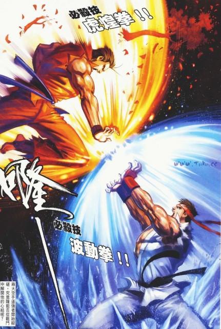 Capcom, SNK, Snk Vs Capcom, Ryo Sakazaki, Ryu