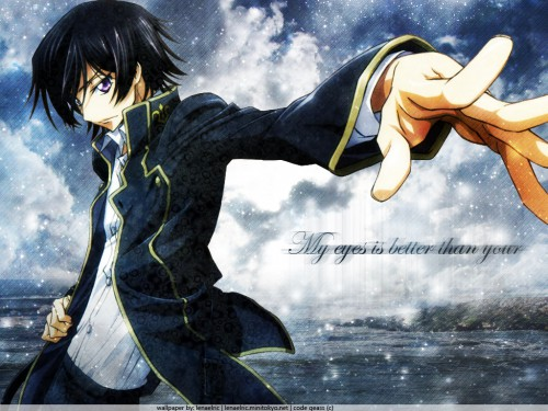 Takahiro Kimura, Sunrise (Studio), Lelouch of the Rebellion, Lelouch Lamperouge Wallpaper