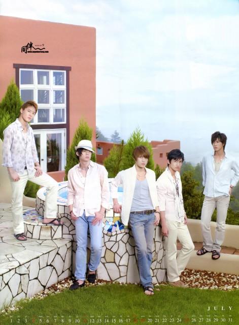 U-Know, TVXQ, Xiah, Micky, Max