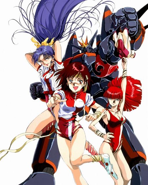 Yoshiyuki Sadamoto, Gainax, Top o Nerae! Gunbuster, Noriko Takaya