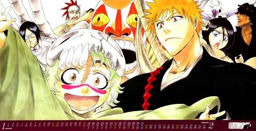 Kubo Tite, Bleach, Bleach 2009 Comic Calendar, Nelliel Tu Oderschvank, Ichigo Kurosaki