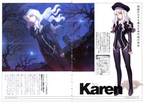 TYPE-MOON, Fate/Hollow ataraxia, Caren Ortensia, Character Sheet