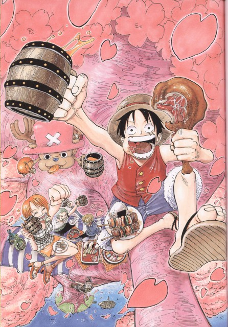 Eiichiro Oda, Toei Animation, One Piece, Color Walk 3 - Lion, Tony Tony Chopper