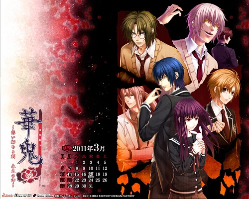 Yone Kazuki, Idea Factory, Hanaoni, Kanna Asagiri, Reiji Takatsuki