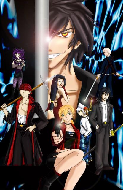 Studio DEEN, Samurai Deeper Kyo, Akira (SDK), Mahiro (SDK), Demon Eyes Kyo