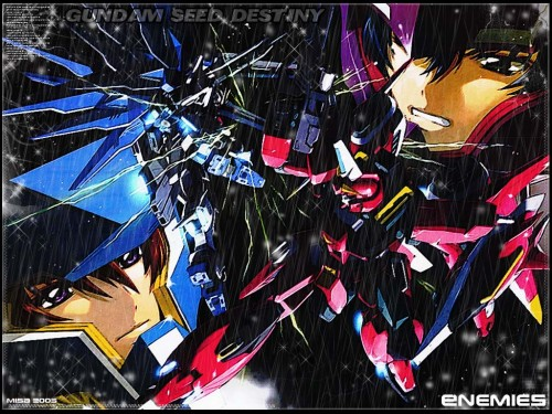 Sunrise (Studio), Mobile Suit Gundam SEED Destiny, Athrun Zala, Kira Yamato Wallpaper