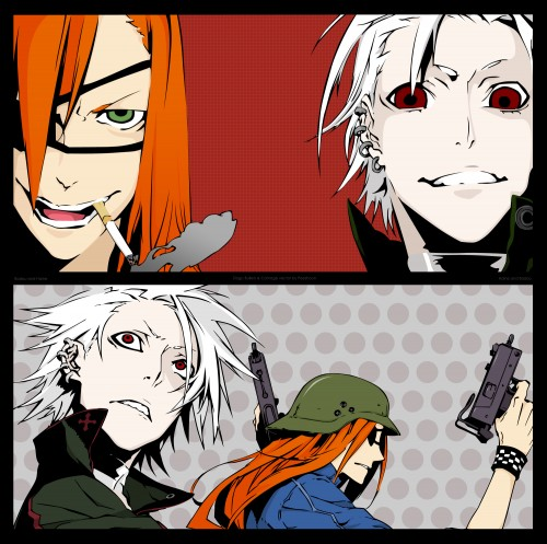 Miwa Shirow, Dogs: Bullets and Carnage, Badou Nails, Haine Rammsteiner, Vector Art