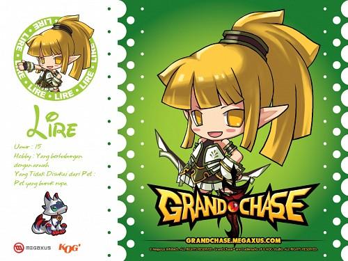 KOG, Grand Chase, Lire, Official Wallpaper